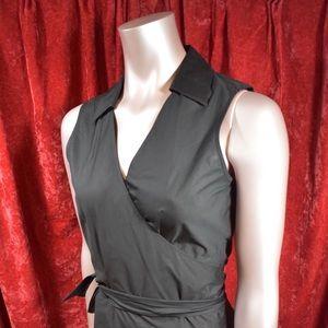 Pinup vintage style wrap blouse